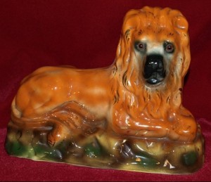 Staffordshire Figure Boness Lion