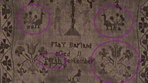 Scottish sampler motifs
