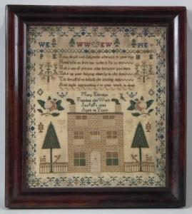 1840 Mary Eldridge sampler