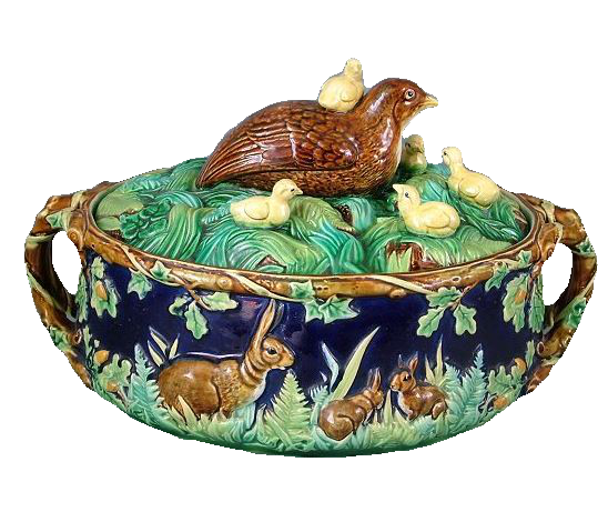 Majolica-makers' marks, Minton, Wedgwood, George Jones