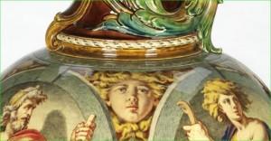 Minton Ewer Detail