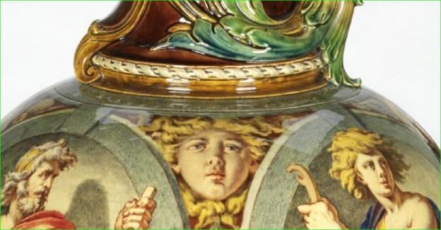 Lead Glaze Perfection – lead-glazed Victorian Majolica