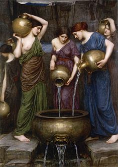 'The Danaides' by , 1903